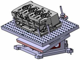 Mess- und Bauteilaufnahme